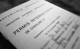 Instruction des demandes de Permis de conduire international